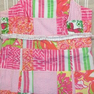 Lilly Pulitzer Dresses - Lilly Pulitzer Patch-Work Strapless Dress